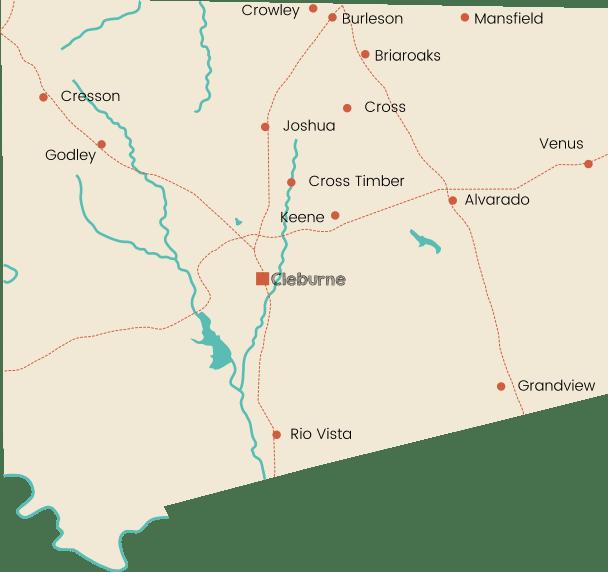 jhonson cities
